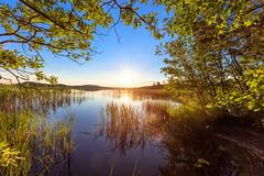 Summer evening (neatmummy) Tags: sunset sun lake water canon finland evening midsummer angle wide sysmä päijänne 1635mm 5dsr
