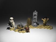 Jakku... ([B]ryce) Tags: star order force lego first stormtrooper wars finn the awakens jakku