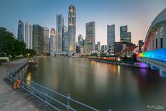 Singapore Financial District (Leslie Hui) Tags: city singapore cityscape singaporeriver marinabaysingapore singaporefinancialdistrict