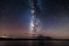 Namtso under the Milky Way (Kelvinn Poon) Tags: night star tibet namtso milkyway 西藏 納木錯 銀河 nagqu 那曲 lakenam