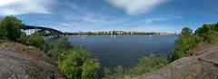Stockholm (Lazar Silviu Daniel) Tags: bridge stockholm sweden canal mlaren sailboats lngholmen kungsholmen vsterbron