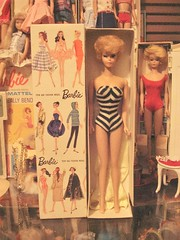 blonde bubble (inmyjammiesintx) Tags: toy doll barbie blonde 1961 bubblecut
