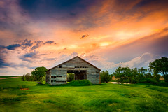 The Grainery (SD Public Broadcasting) Tags: sunset tractor water grass barn southdakota landscape spring cattle cows may ducks winner hay ideal johndeere alfalfa hamill avocet 2016 colome dakotawindsphotography daktawindsphotocom