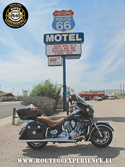 Route 66 Experience, Route 66 Motel Seligman (ROUTE 66 EXPERIENCE) Tags: route66experience route66 ruta66 indian motard moto motorrad motociclismo motero motorcycle motorcycletouring motorcycletour mother road sign