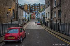 Elvaston Mews (James Neeley) Tags: london mini kensington jamesneeley elvastonmews