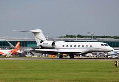 N651CH Gulfstream G650ER (R.K.C. Photography) Tags: uk england unitedkingdom aircraft essex stn jpmorgan bizjets 6060 egss londonstanstedairport g650 canoneos100d n651ch gulfstreamg650er chasebankna
