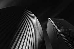A towering of light (Walter Genuit) Tags: blackandwhite architecture perth