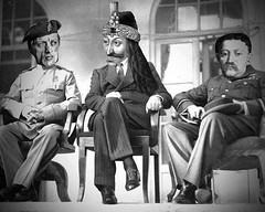 Could someone identify the persons on the left and right? Image is a meme of the Yalta conference [587x471] date of the original image being 1945. #HistoryPorn #history #retro http://ift.tt/1rq2B7Z (Histolines) Tags: original history is image being right retro meme timeline conference someone persons date left 1945 could yalta identify vinatage historyporn histolines 587x471 httpifttt1rq2b7z
