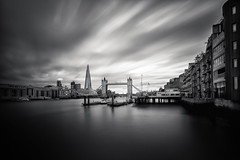 Shard & Tower Bridge (mick eins) Tags: longexposure bridge london thames towerbridge sony fineart le alpha shard nisi 1635mm nd2000 14stops formatthitechfilters formatthitech mickeins nisifilters a7rii ilce7mr2 fe1635zaoss proirnd3stop