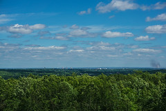 Providence From Mercer Lookout (Austin Taylor_) Tags: blue trees sky green nature forest landscape spring hiking horizon trails rhodeisland preserve veiws
