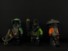 Space Figbarf: The bad guys (joaqunechavarra) Tags: lego space fantasy scifi minifig custom minifigure purist figbarf