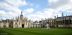 King's College (dgoomany) Tags: england cambridge university universityofcambridge education higheducation smart intelligent colleges rivalry kings college kingscollege architecture old oldbuildings classical gothic stone stonework sculptures