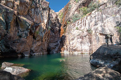 Motor Car Falls (Andrea Schaffer) Tags: winter june swimming australia australien swimminghole northernterritory australie kakadunationalpark topend 2016 dryseason canonefs1022mmf3545usm   motorcarfalls yurmikmik canon70d