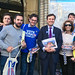Greg Hands MP campaigning across Chelsea & Fulham with local supporters for a Remain vote on Thursday.