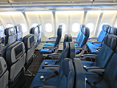 Hawaiian A330-243 N380HA Makali'i (kenjet) Tags: blue plane airplane inflight cabin interior seat aviation jet row rows seats airline airbus hawaiian ha a330 airliner a330200 hawaiianairlines sidewalls a330243 n380ha