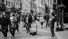 The Saxaphone player. (steve.gombocz) Tags: street people blackandwhite bw music blackwhite noiretblanc zwartwit leeds olympus saxaphone streetmusic blacknwhite greyscale noirblanc negroyblanco bwphotos svarthvitt mustavalkoinen negroblanco neroebianco blackwhitephotos schwartzweiss nerobianco sortoghvid olympususers olympusdigitalcamerausers olympuszuikodigitalclub svartochvitt schwartzundweiss svartoghvitt flickrbw bwflickr olympuscamerausers olympusm25mmf18 olympusem5mark2 czarnyibiaty micro43rdsuk