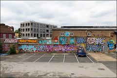 Various... (Alex Ellison) Tags: 2rise tworise gw ghostwriters paulinsect pins dscreet dubltrubl seb ncc mean pfb shank dmote brk brk192 trp therollingpeople hackneywick eastlondon urban graffiti graff boobs