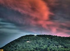 Summer Eve Twilight Roanoke Star (Terry Aldhizer) Tags: city eve blue sunset summer sky mountain mill clouds star twilight ridge solstice roanoke terry aldhizer wwwterryaldhizercom