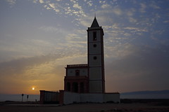 Iglesia de Las Salinas al Atardecer ( calvin1961) Tags: cabo de gatala fabriquillala almadraba montelevaandalucaespaaspain iglesia church almera
