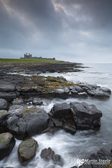 Dunstanburgh (Martin Steele.) Tags: uk sea seascape coast north east northumberland craster dunstanburgh