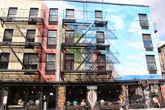 E9thSt (57) (ShellyS) Tags: nyc newyorkcity manhattan eastvillage buildings wallart murals streeets