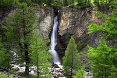 Au coeur de la nature (Philis.Nat) Tags: france montagne canon pose eau paysage lente cascade extrieur arbre col chute sapin longe vgtation mlze cayolle eos7d
