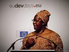 Nyaradzayi Gumbozvanda, Representative of CONCORD Europe  International Board Chair, Action Aid International (Durickas) Tags: edd edd2016 europeandevelopmentdays brussels tourtaxis nyaradzayigumbozvanda representativeofconcordeuropeinternationalboardchair actionaidinternational