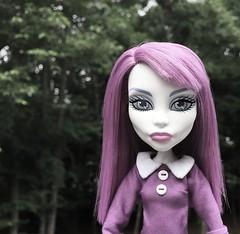 Mod Spectra (welovethedark) Tags: green doll purple spectra mattel iphone creepydoll iphonephoto monsterhighdoll spectravondergeist ghoulsgetawayspectra