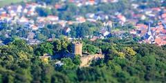Alsbacher Schloss (Nihil Baxter007) Tags: castle klein hessen view forrest shift mini tiny tilt schloss wald bume baum spielzeug burg tiltshift alsbach vonoben bergstrasse