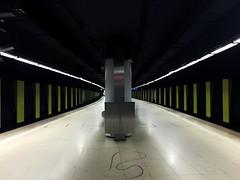 subway station, Frankfurt (stromlinienbaby) Tags: urban station train underground subway publictransportation traffic metro commuting underneath