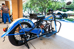 Indian motorcycle (hz536n/George Thomas) Tags: summer copyright canon michigan motorcycle canon5d flint carshow 2016 iindian ef1740mmf4lusm cs5 sloanmuseum sloanmuseumautofair