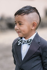 new look (r3ddlight) Tags: kids child suite bowtie hair styled asianboy smile