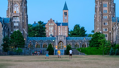 Cornell University - War Memorial at Dusk (agladshtein) Tags: cornelluniversity ithaca newyork ny tompkinscounty dusk sunset students sonya7r2 sony2470mmgmfe