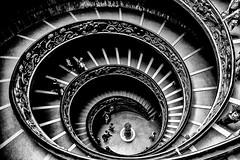 The Vatican Spiral (Sbastien Turpin Photography) Tags: italien italy pope vatican rome roma museum stairs 1932 canon spiral eos momo italia bramante musei double muse escalera vaticano staircase 7d papa scala mm efs escalier italie pape spirale giuseppe donato vaticani 1755 hlice