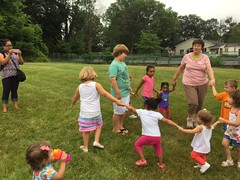 Ring around the rosie (mcllibrary) Tags: ewing branch youth services event