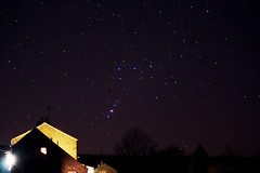 Orion over the Station Inn (pete_collins) Tags: station inn nightscape yorkshire orion astronomy dales ribblehead starscape