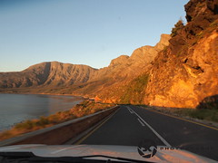 R44 On 4 Wheels (jan-krux photography - thx for 3 Mio+ views) Tags: ocean travel sea mountains landscape southafrica evening roads falsebay e5 westerncape zd r44 1260mm kogelbergmountains