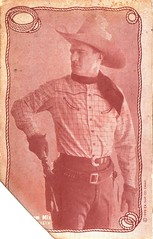 Tom Mix (1929) (addie65) Tags: 1920s hat cowboy gun teeth hollywood cowboyhat 1929 hollywoodland classicactor gunbelt classicfilm classichollywood tommix foxfilmcorporation classicwesterns