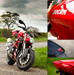 Ducati Streetfighter 848 (PGDesigns.co.uk) Tags: road red detail bike canon drive is cafe ride phil yorkshire country cycle 7d flare motor ducati squires streetfighter 70300 sherburn 848 grayston pgdesigns