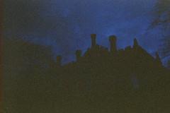 North Hill Court (Saturated Imagery) Tags: blue lomography toycamera grain leeds headingley madeinitaly expiredfilm ferraniasolaris200 epsonv500 boots200 photoshopelements9 leclicfunshooterfs30