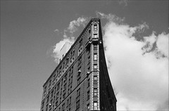 Brooklyn (Adam Chin) Tags: bw newyork brooklyn zeissikon grandarmyplaza fujineopan400 zeissbiogon35mm20