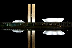 National Congress of Brazil (Francisco Arago) Tags: lighting light brazil sky reflection building luz monument latinamerica southamerica niemeyer horizontal braslia arquitetura brasil architecture night buildings reflections photography df colours photographer nightshot monumento postcard capital cu structure noturna noite monumentos christmasdecoration luzes fotografia reflexo reflexos fotgrafo distritofederal fotonoturna amricadosul amricalatina edifcios colorido oscarniemeyer estrutura cartopostal planaltocentral centrooeste espelhodgua planopiloto arquiteturamoderna decoraodenatal canonef24105mmf4lis obradearte poderlegislativo repblicafederativadobrasil edificaes pontoturstico capitaldobrasil canoneos5dmarkii nationalcongressofbrazil atraoturstica copadomundo2014 arquitetooscarniemeyer congressonacionaldobrasil franciscoarago copadasconfederaes decoracaodenatal decoracaonatalina capitalinternacional