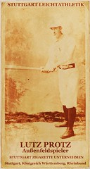Lutz Protz, Stuttgart Athletics Outfielder (Napoleon (Vengeful Potentate)) Tags: history sports poster logo baseball stuttgart rhine alternate