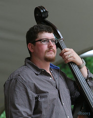The Jeff little Trio - Josh Scott (DaBrain) Tags: park music jeff rain umbrella scott concert little bluegrass bass guitar outdoor live steve amphitheatre piano lewis banjo josh stuff fred bond trio pinecone cary usic sertoma
