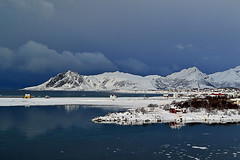 Gaukværøy und Svinøya (Godwi_) Tags: winter norway wasser norwegen wolken berge vesterålen svinøya blinkagain gaukværøy rememberthatmomentlevel1 rememberthatmomentlevel2