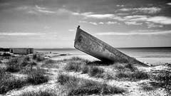 Es Trenc - Boat (Frank Ristau) Tags: blackandwhite bw mallorca spanien majorca balearen