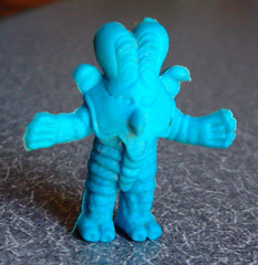 Little Blue Ultraman Varduck Japanese Keshi Figure Keshigomu (gregg_koenig) Tags: blue bird monster japan toy japanese little alien rubber godzilla dai figure ban popy ultraman bullmark keshigomu keshi varduck