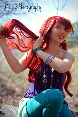 The Little Mermaid (Red 5 Photography) Tags: red green ariel yellow purple princess fork disney mermaid redhair comb disneyprincess thelittlemermaid brushhair dinglehopper modernariel