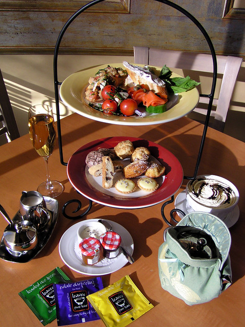 afternoon tea frenchstyle provencemediterraneangrill frenchfood provencemarinaside provencerestaurants