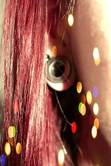 Plug (MushroomsLove) Tags: light cute art love sweet plug redhair plugs sweety bodymode